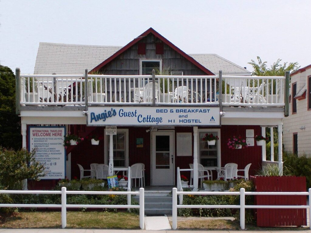 Angie's Guest Cottages in Virginia Beach.