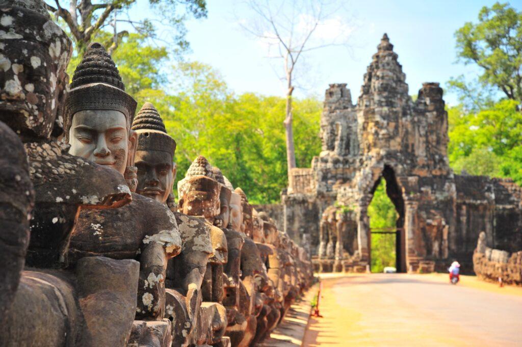 Angkor Thom in Cambodia.