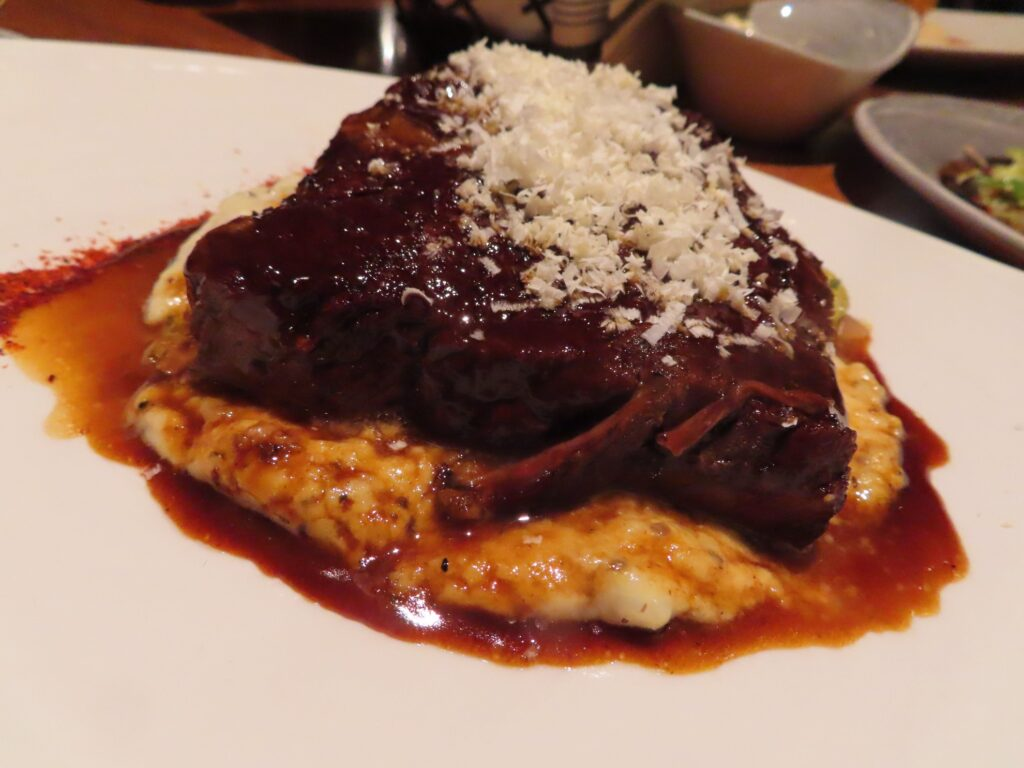 Angus beef short rib from Lone Eagle Grille.