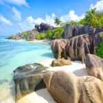 Anse Source d'Argent beach in the Seychelles.