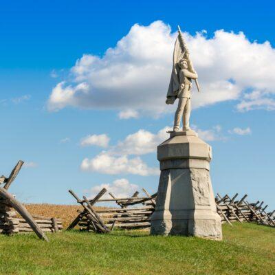 Antietam National Battlefield near Hagerstown, Maryland.