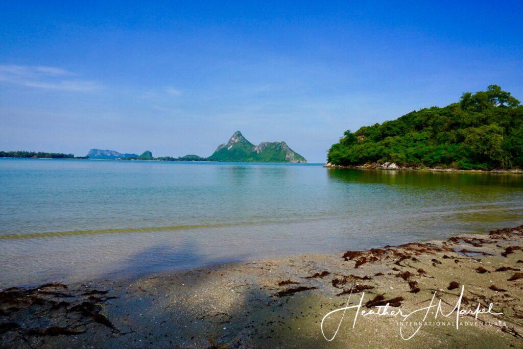 Ao Manao Beach in Prachuap.