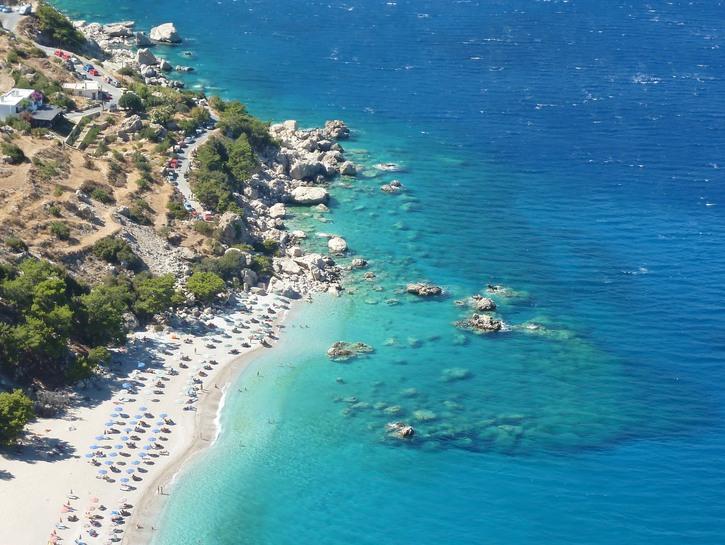 Apella Beach, on the island of Karpathos.