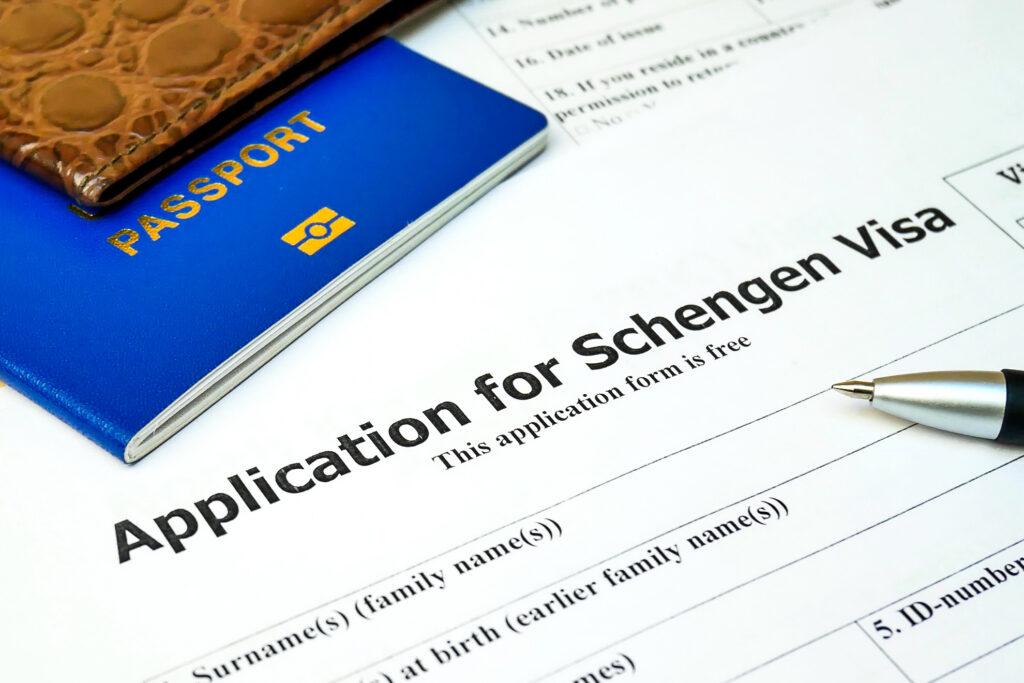 Applying for a Schengen Visa to visit Europe.