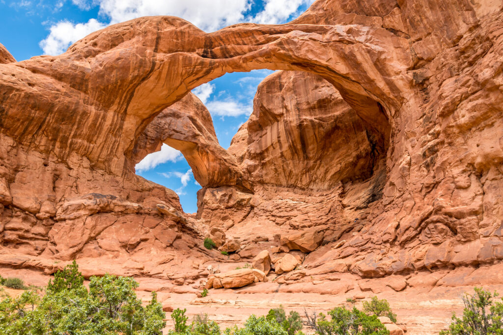 Arches National Park in Utah.