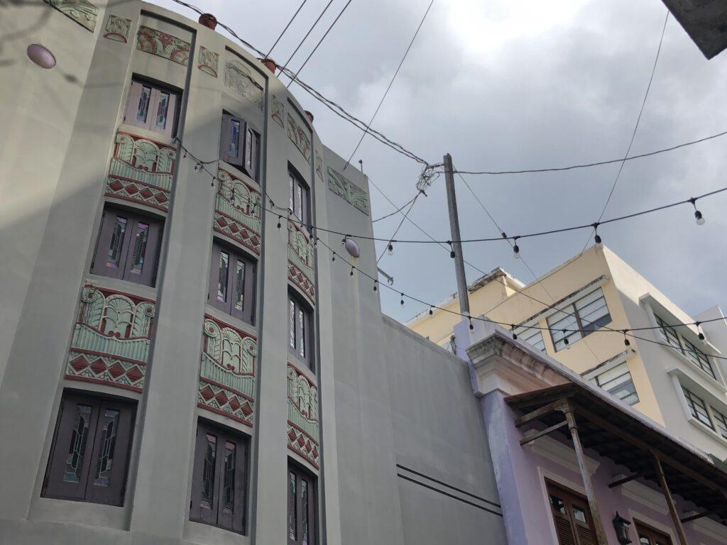 Architecture in San Juan, Puerto Rico.
