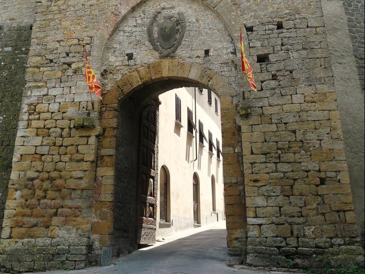 Archway in Volterra