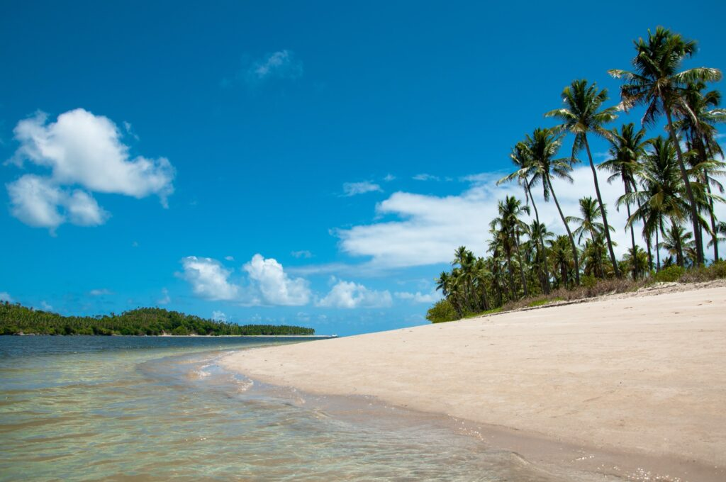 Arikinda Beach in Pernambuco, Brazil.