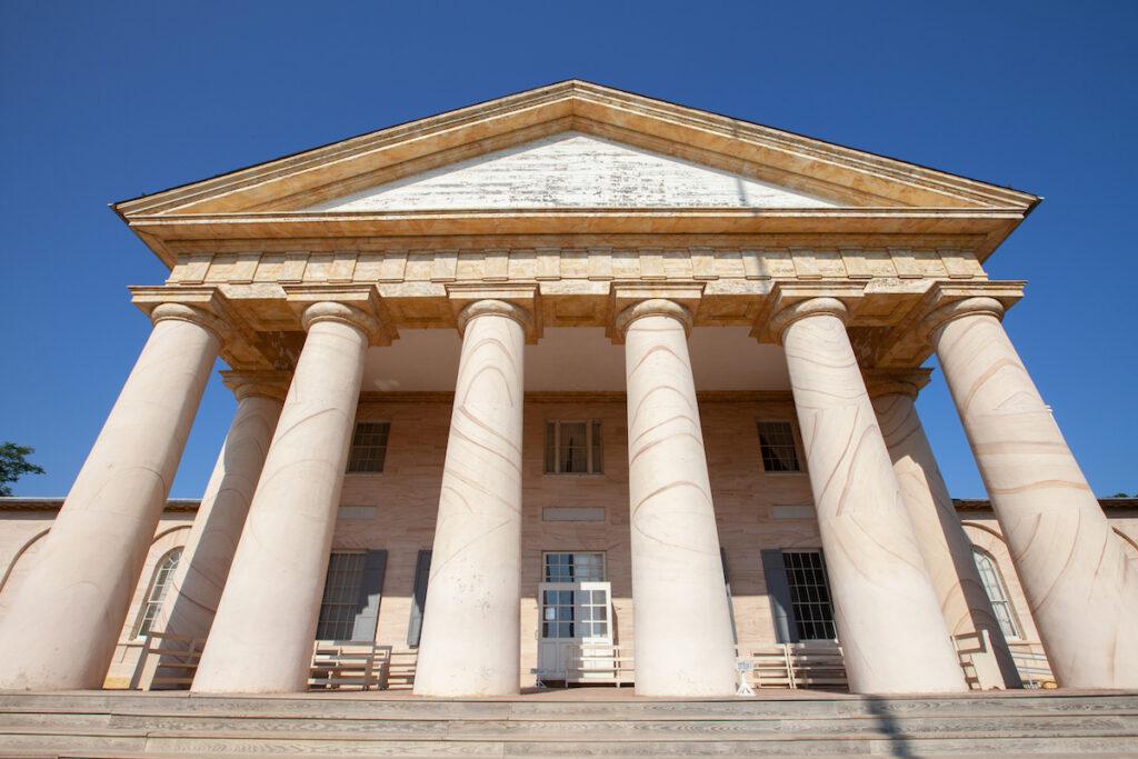 Arlington House at Arlington National Cemetery.