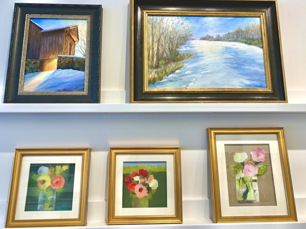 Art at Square Pear Gallery, Kennett Square.