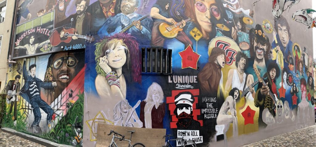 Art in Basel, Switzerland.