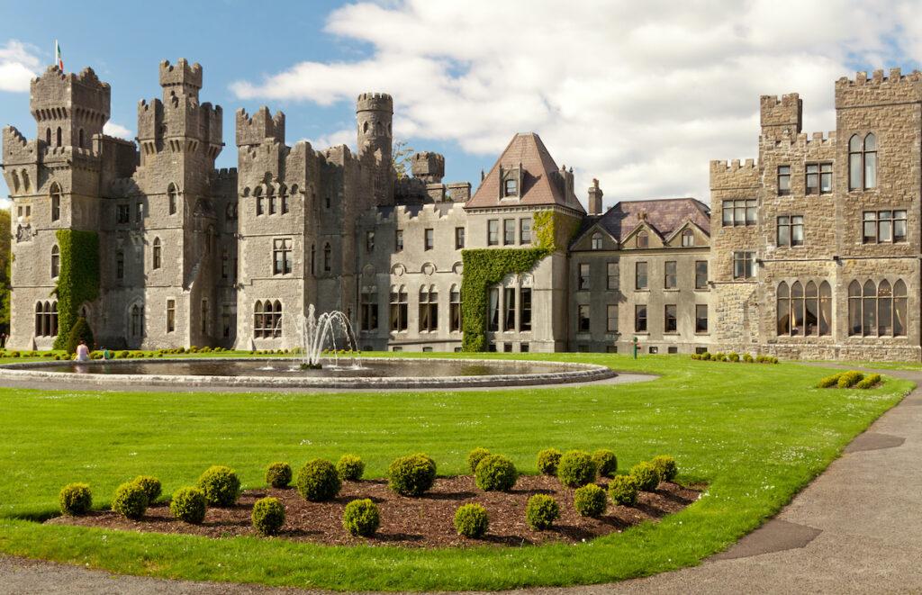 Ashford Castle in County Galway, Ireland.