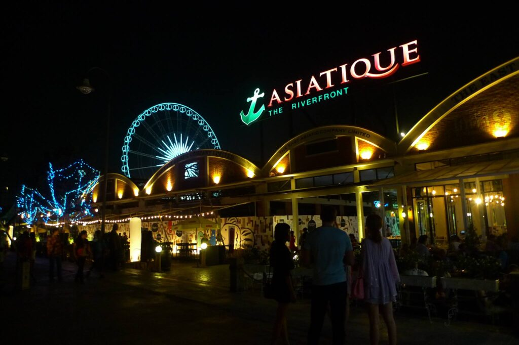 Asiatique on the Riverfront in Bangkok.