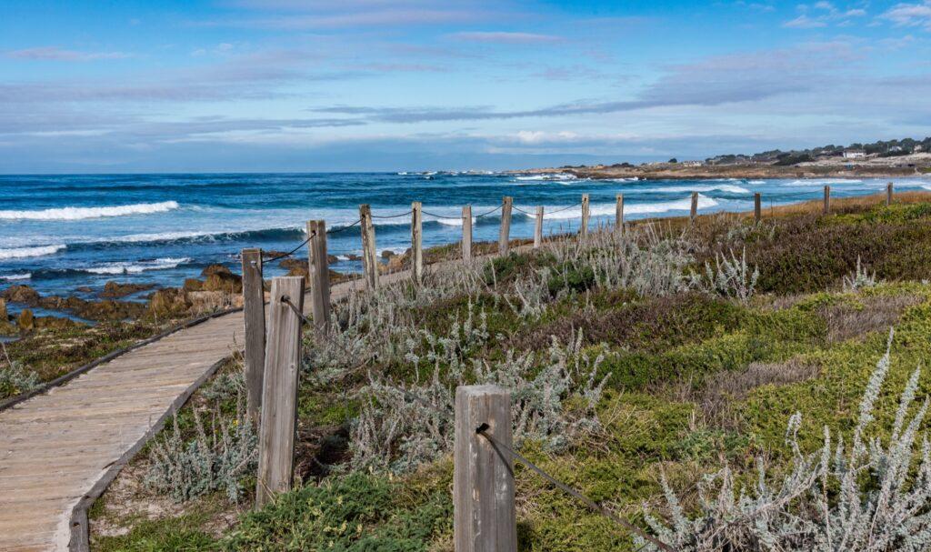 Asilomar State Beach in Monterey.