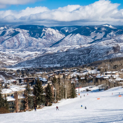 Aspen Snowmass ski resort in Aspen, Colorado.