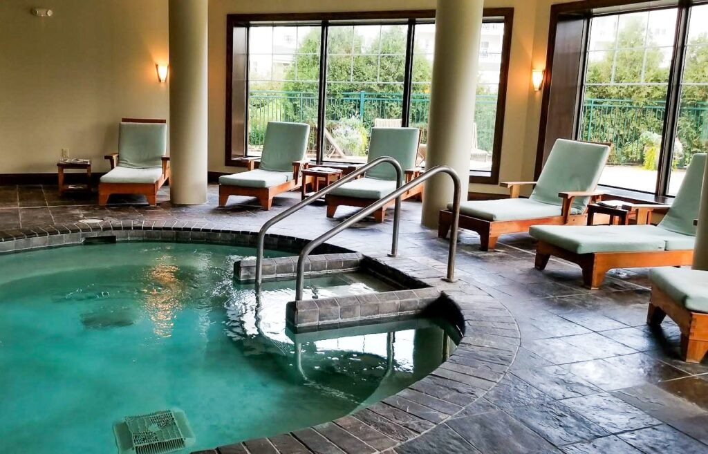 Aspira Spa in Elkhart Lake.