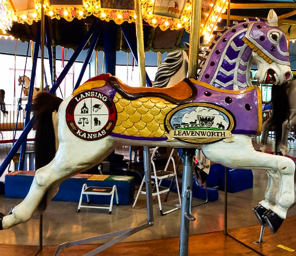 At the Carousel Museum in Kansas City
