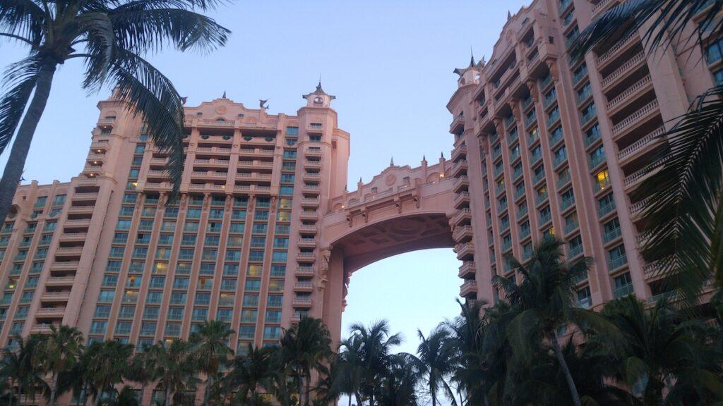 Atlantis, a beautiful hotel in Nassau.