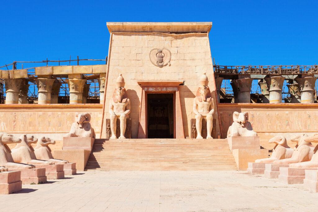 Atlas Film Studios in Ouarzazate, Morocco.