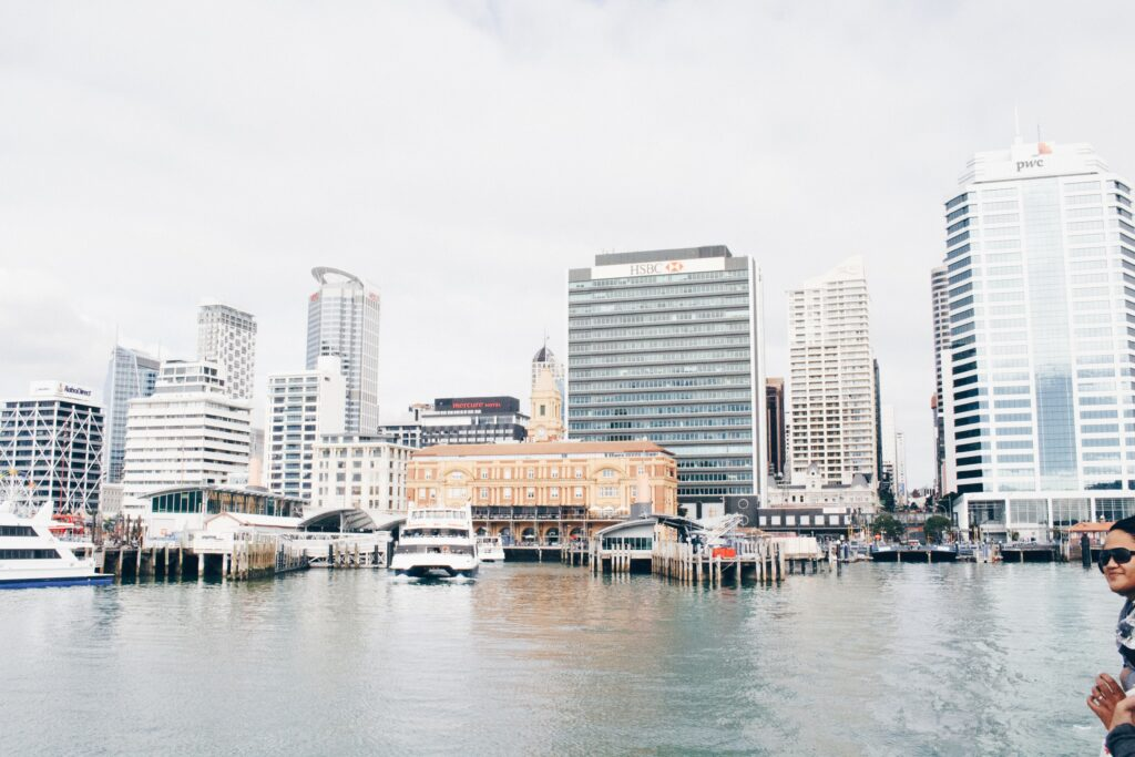 Auckland's urban waterfront and ferries