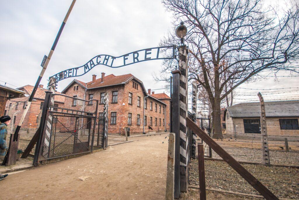 Auschwitz-Birkenau Concentration Camp in Poland.
