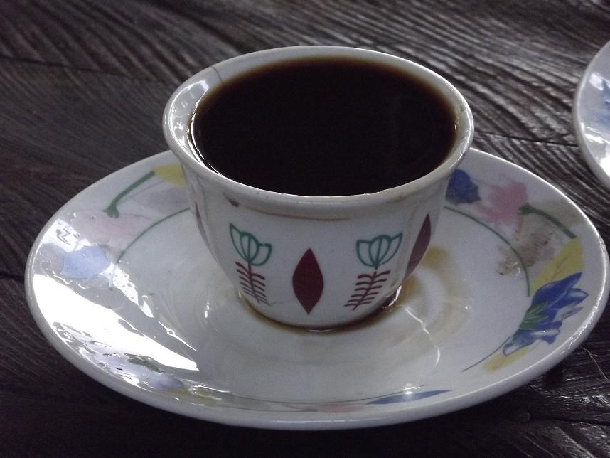 Authentic Ethiopian coffee.