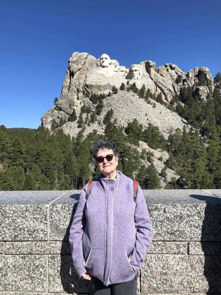Author at Mount Rushmore, South Dakota.