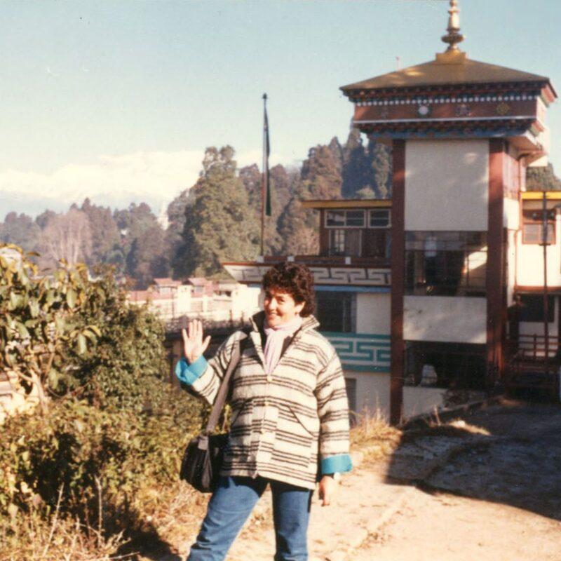 Author in Darjeeling, India.