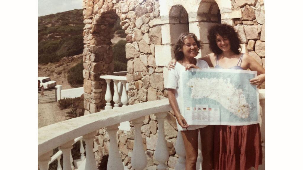 Author in Menorca, Spain.