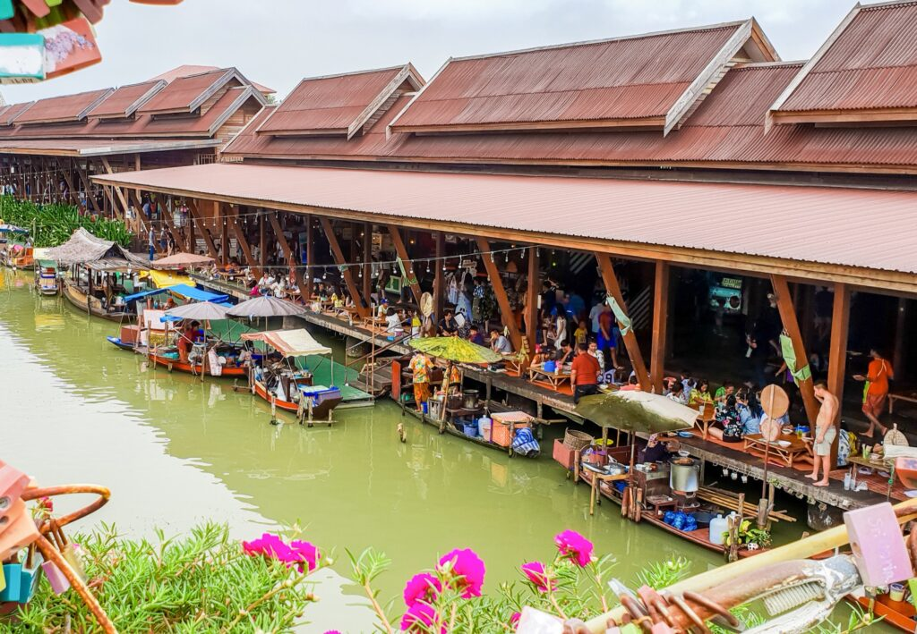 Ayutthaya's Floating Market.