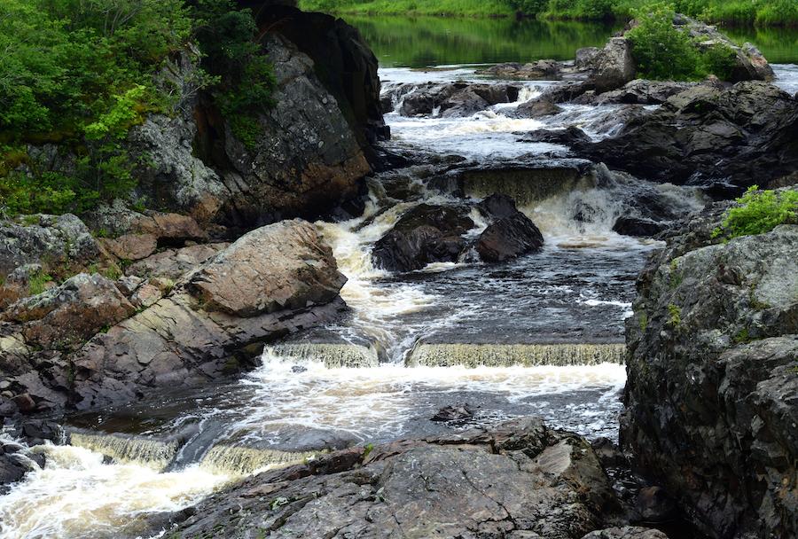 Bad Little Falls Park in Machias, Maine.
