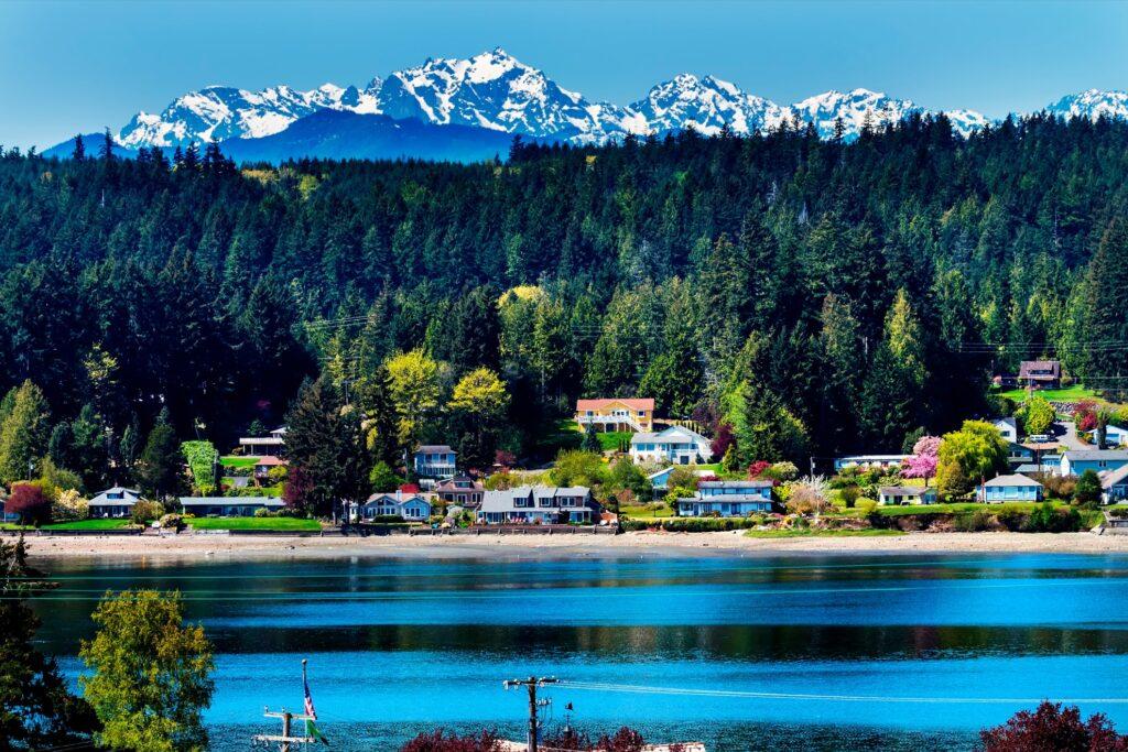 Bainbridge Island in Washington.