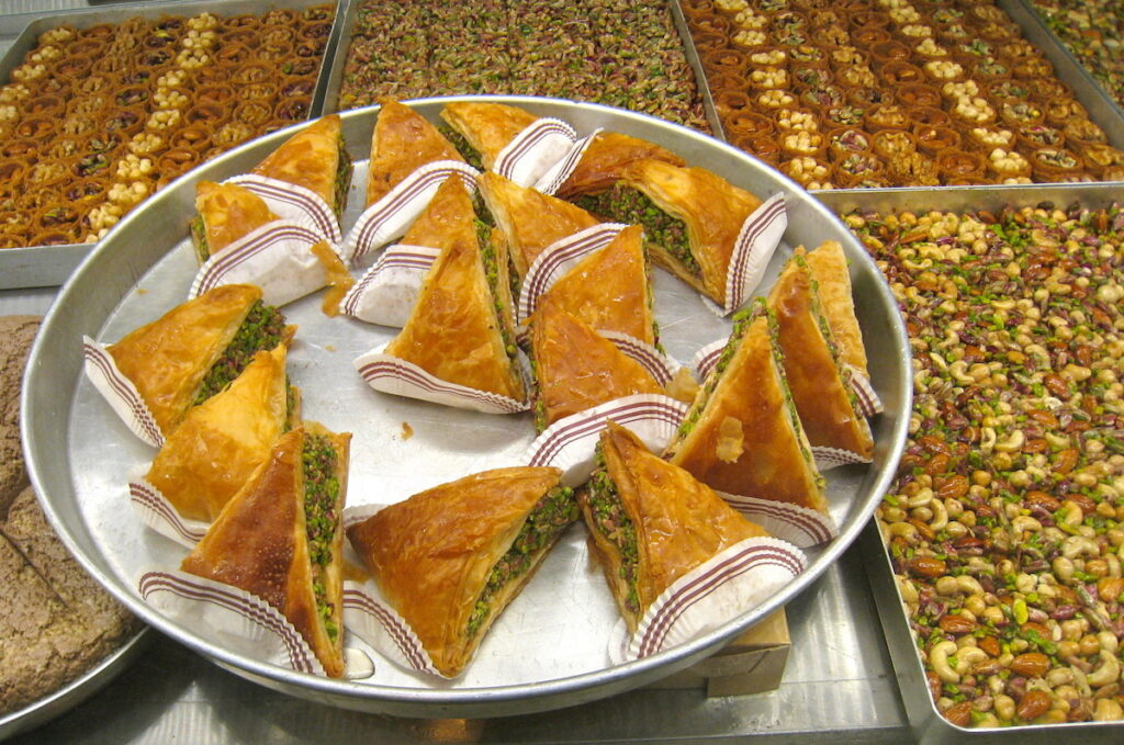 Baklava in Turkey.