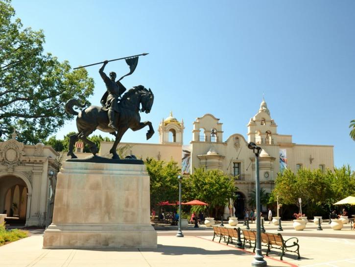 Balboa Park El Cid Statue