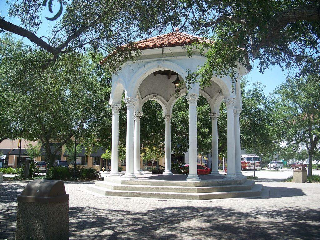 Balis Park in Jacksonville, Florida.