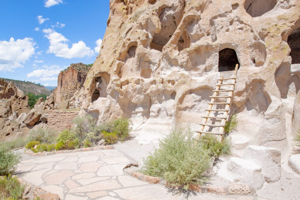 Bandelier National Monument in Los Alamos, New Mexico.