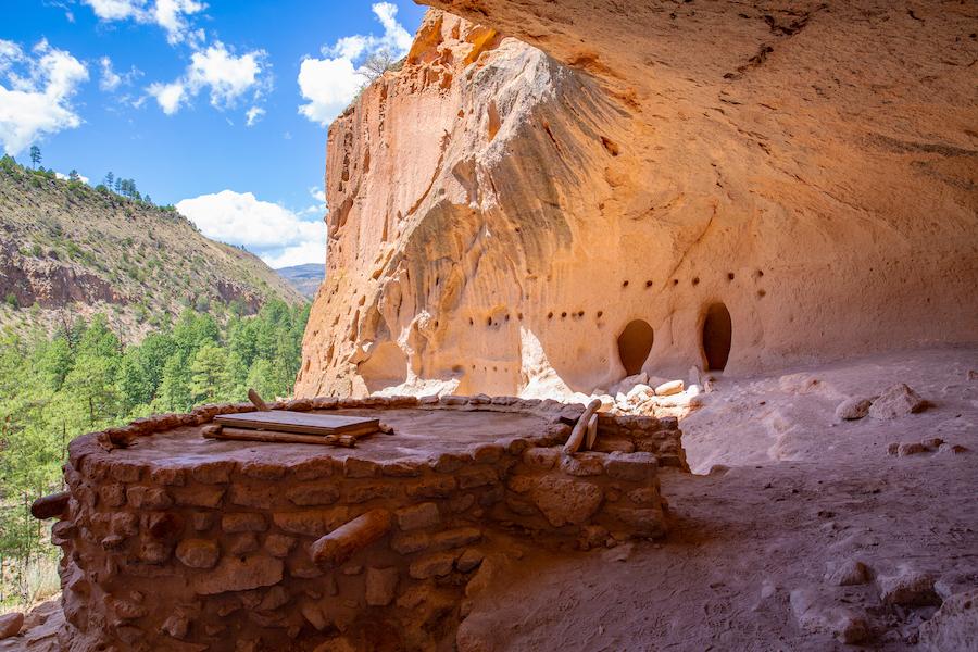 Bandelier National Monument near Santa Fe.