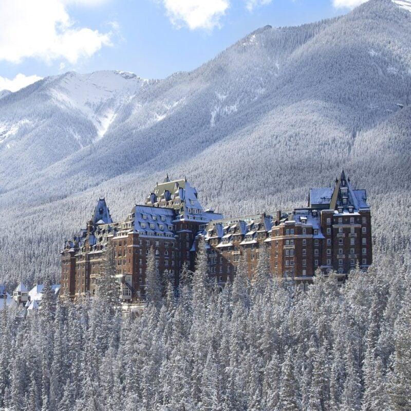 Banff Springs Hotel, Banff National Park.