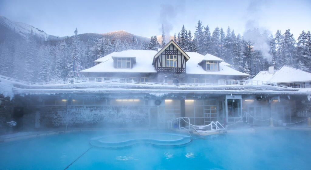 Banff Upper Hot Springs in Alberta.