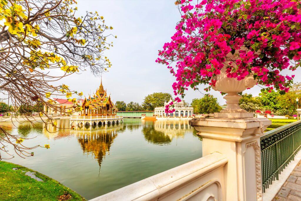 Bang Pa-In Royal Palace in Ayutthaya.