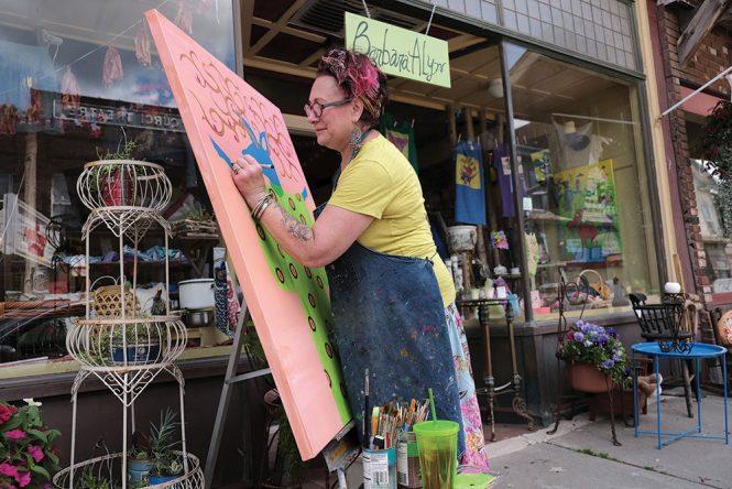 Barbara Alyn Artwear Luxury and Mercantile in Margaretville, New York.