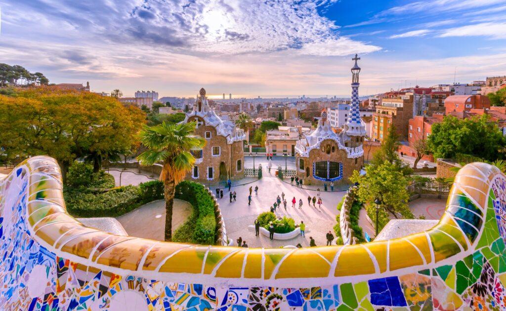 Barcelona in Spain.