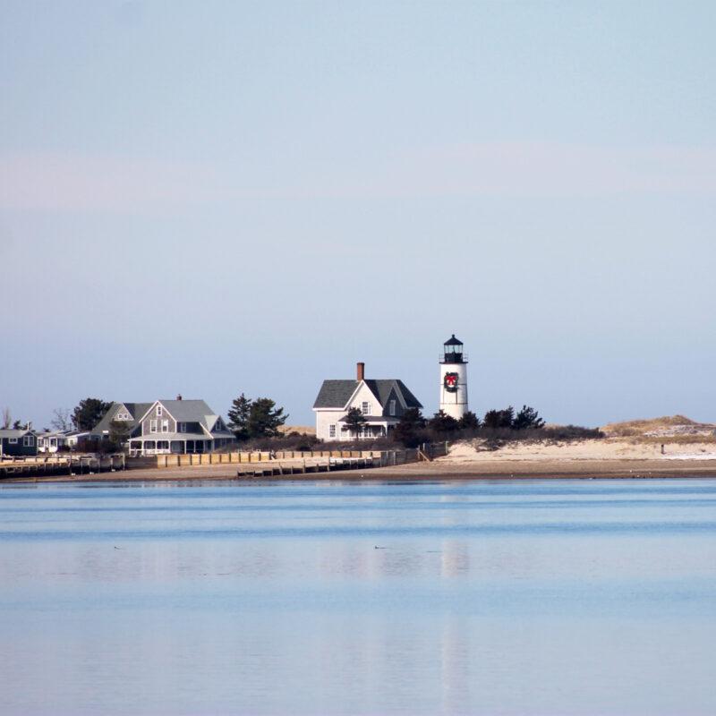 Barnstable harbor in Massachusetts.