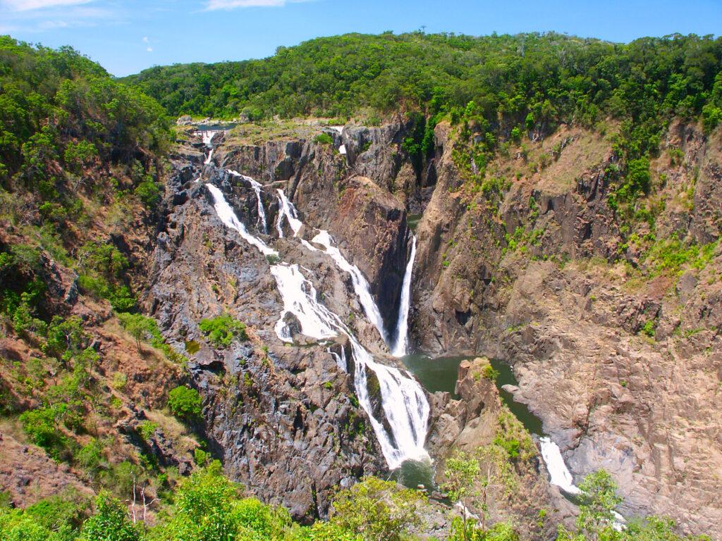 Barron Falls in Barron Gorge National Park.