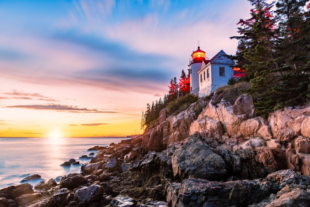 Bass Harbor Head Lighthouse.