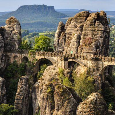Bastei Bridge, Germany.
