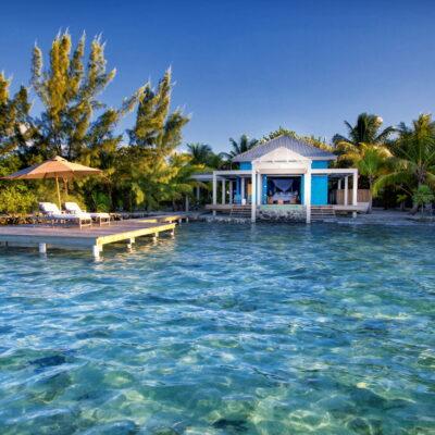 beach house on private island