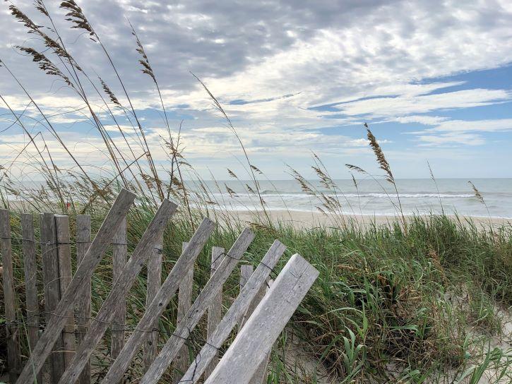 Beach in Atlantic Beach, North Carolina.