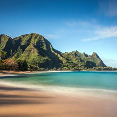 Beach in Kauai, Hawaii.