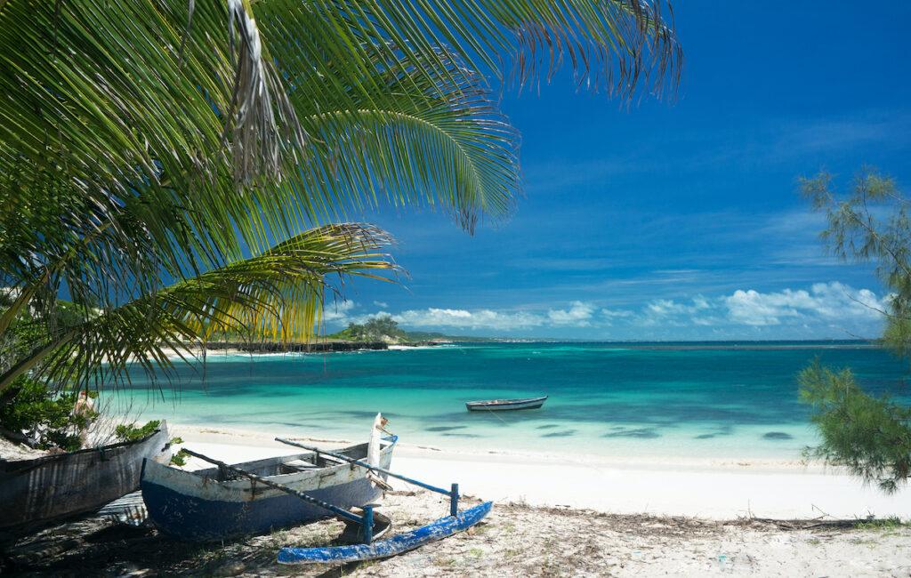 Beach views in Madagascar.